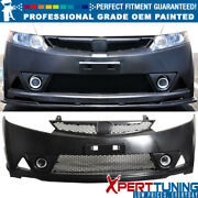 Fits 06-11 Honda Civic Mu Rr Style Pp Front Bumper Cover Oem Painted Color
