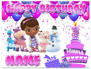 Doc Mcstuffins Birthday Edible Image Cake Topper Personalized Icing Sheets