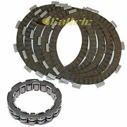 Clutch Friction Plates And One Way Bearing For Honda Atc250sx 1985 1986 1987