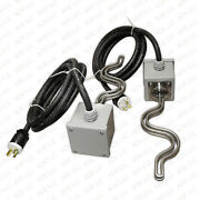 11000 Watt Moonshine Still Controller Electric Heating Elements Tri Clamp Boxes
