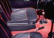 Mg Midget And Sprite Center Console Leather Armrest, Storage, Cup Holder. Bugeye