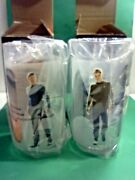 Set Of 4 2008 Star Trek Paramount Collectable Glasses