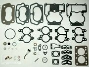 1955-69 Carburetor Kit With Float Rochester 2 Barrel Chevy 283 - 350 Eng New