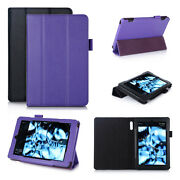 Genuine Leather Smart Case Cover For Kindle Fire Hd 6 Tablet 2014 Ed