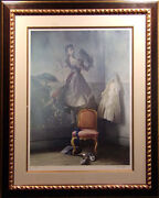 Alain Senez Untitled Giclee Chair La Danseus Hand Signed Andnumbered Make An Offer