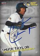 Chuck Charles Taylor 2014 Southbend Silver Hawks Signed Card