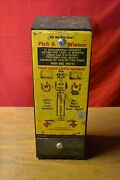 W/ Tickets Device Ole Doc's Lucky Number Hot Box Ramm Vending Promotion Gambling