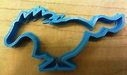 Mustang Horse Cookie Cutter - Choice Of Sizes - 3d Printed Plastic