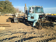 1993 White Volvo Day Cab Parts Chassis W/ Suspension Power Divider Rear Drivers