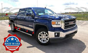 2014-2018 Gmc Sierra Crew Cab 5.8and039 Short Bed Rocker Panel Trim Stainless 8 12pc