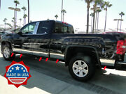2014-2018 Gmc Sierra Extended/double Cab 6.8and039 Short Bed Rocker Panel Trim 8