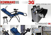 Portable Dental Unit Delivery System Kommand 3g With Chair M4 New Usa 4 Holes