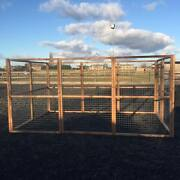 12ft X 8ft Animal Run 16g 2 Wire Chicken Dogs Cats Puppy Fox Proof Safe Pen