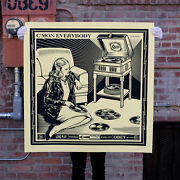 Cand039mon Everybody Large Format Only 50 Shepard Fairey Obey Giant Sold Out