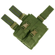 Flyye Goutte Militaire Jambe Double / Mag Pouch Airsoft Cordura Nylon Olive