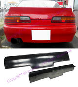 Frp Trunk Spoiler For 89-93 S13 Coupe 240sx Bunny Style Body Kit Rear Wing