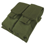 Condor Double Magazine Storage Pouch Molle Army Case Webbing Olive Drab