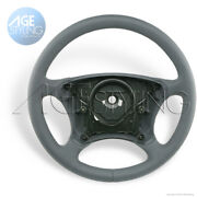 Oem Mercedes-benz S-class W220 C215 Coupe Orion Grey Leather Steering Wheel