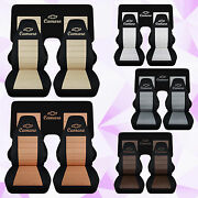 Fits 1982-1992 Camaro Front And3 Piece Rear Car Seat Covers Choose Color