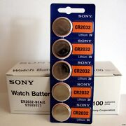 1000 Pc Sony Cr2032 Cr 2032 3v Lithium Batteries Expire 2029 1000 Coin Cells