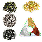 1000pcs 4mm - 20mm Iron Eyelets Grommets With Washers Diy Banners Vinyl Crafts