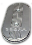 Mustang Finned Alloy Air Cleaner Oval Filter 1969 1970 69 70 Mach 1 Grande Boss