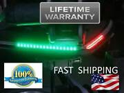 Lifetime Replacement ---- Red And Green Front Boat Lights - Nightime Running Light