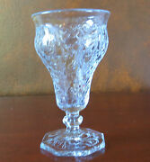 """Mckee Rock Crystal Clear 5 5/8"""" Low Water Goblets"""