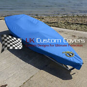 Laser Dinghy Boat Tailored Cover - Blue - 125