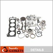 85-95 Toyota 2.4l 22r Timing Chain Kithd+cover+mls Head Gasket+oilandwater Pump