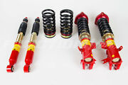 F2 Function And Form Type 2 32ways Adjustable Coilovers 12-15 Civic 13-15 Ilx