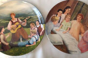 Lot Of 2 Sound Of Music Collectible Plates By Knowles 1986 Do Re Mi / My Fav Thn
