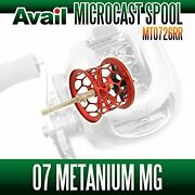 Avail Shimano Spool Mt0726rr Red For Core100mg, Chronarch D, 07 Metanium Mg