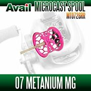 Avail Shimano Spool Mt0726rr Pink For Core100mg, Chronarch D, 07 Metanium Mg