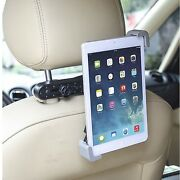 Ipad 2 3 4 Mini Air And Tablet Black In Car Back Seat Headrest Holder Stand Mount