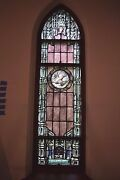 + Beautiful 95 Year Old Stained Glass Window + C.1918 + 4ns + + Chalice Co.