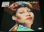 Aretha Franklin Signed Album, Respect, Amazing Grace,jump To It, Psa/dna Z51224