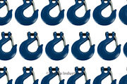 25x 3/4 Chain Slip Safety Latch Hook Clevis Rigging Tow Winch Trailer Grade 70