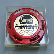 Janssen Collection St8s Vintage Rare Jimmy Green Sunset Line Co Fly Line