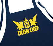 Black Barbecue Apron Iron Chef Novelty Cooking Aprons By Coolaprons