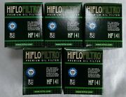 Hiflofiltro Oe Quality Oil Filters X 5 Fits Yamaha Wr250f 2003 To 2008