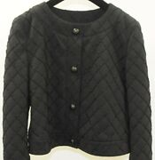 5400 New 15p Runway Coat Stretch Quilted Short Outer Jacket 38