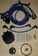 Mercruiser Tune-up Kit Thunderbolt V8 Cap Rotor And Wires 816608q61 Wire Set