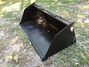 New 78 Skid Steer/tractor Snow/mulch 6 1/2and039 Bucket-for Bobcat Case Cat And More