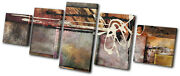 Abstract Natural Paint Art Collage Canvas Wall Art Picture Print Va