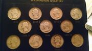 Complete Washington Quarter Collection 1932 - 1963 Good To Mint State Proof