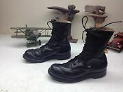 Vintage 1966 Made In Usa Endicot Johnson Motorcycle Military Engineer Boots 8de