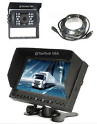 7 Color Lcd Reversing High Resultion Monitor And Ccd 700tvl Reverse Camera Andcable