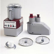 Robot Coupe R2n Combination Vegetable Prep. And Vertical Cutter-mixer