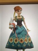 Frozen Fever Anna 17 Doll. Le 5000 In Hand Disney Store